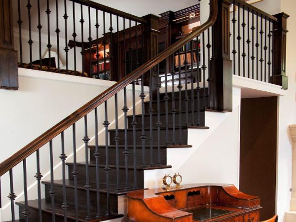 室内楼梯镀锌护栏管